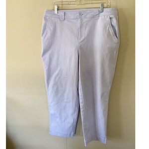 A New Day Lilac Ankle Pants Size 14